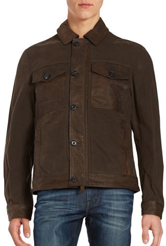 TimberlandTimberland Leather Utility Jacket