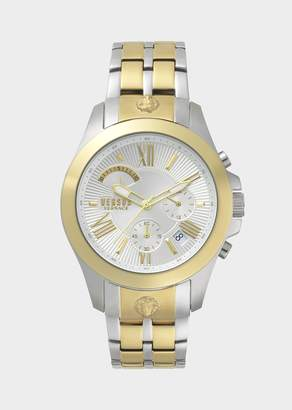 Versus Two-Toned Chrono Lion Watch