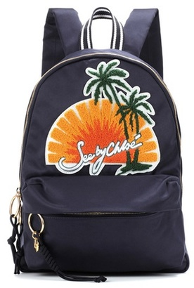 See by Chloe Embroidered backpack