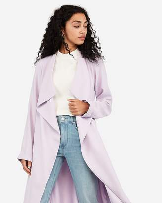Express Belted Soft Trench Coat