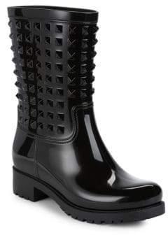 Valentino Studded Rainboots