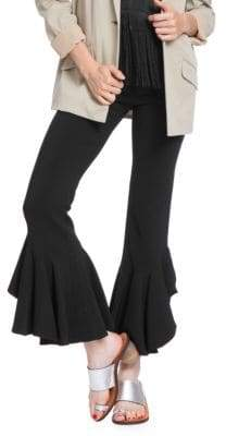 Plenty by Tracy Reese Cascading Ruffle Ankle Pants