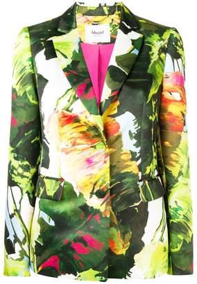 Blugirl floral fitted blazer