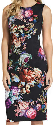 Adrianna Papell Glorious Garden Sheath Dress