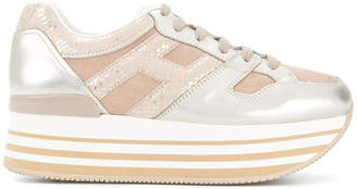 Hogan high platform sneakers