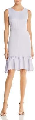 Nanette Lepore nanette Satin Flounce Dress