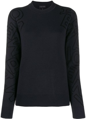 Emporio Armani knitted jumper