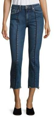 Paige Julia High-Rise Step-Hem Jeans