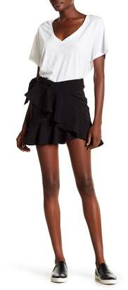 Arrive Dominic Ruffled Mini Skirt