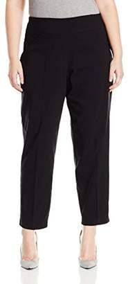 Alfred Dunner Women's Updated Medium (Regular) Lenth Slim Leg Pant