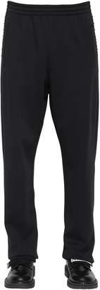 Valentino Rockstud Techno Jersey Sweatpants