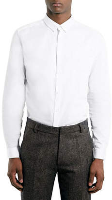 Topman Premium White Long Sleeve Smart Shirt