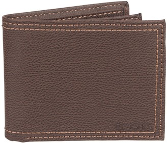 Levi's Levis Men's RFID-Blocking Extra-Capacity Brown Slimfold Wallet