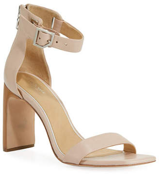 Rag & Bone Ellis Leather Ankle-Wrap Sandal