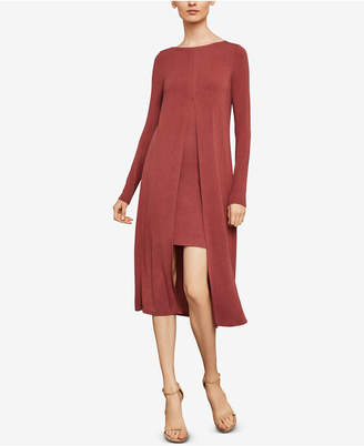 BCBGMAXAZRIA Ayana Layered Midi Dress