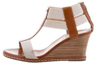 Fendi Leather Wedges Sandals