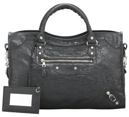 Balenciaga Giant 12 Nickel City Bag, Anthracite