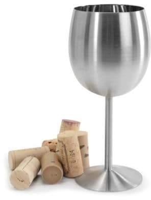 Danesco Stainless Steel Wine Goblet