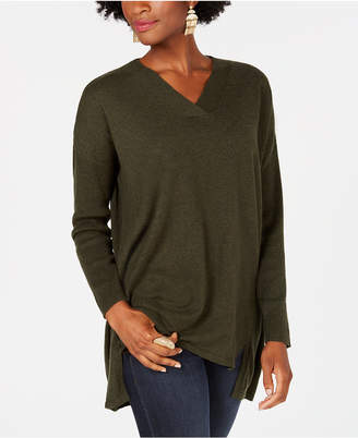 Style&Co. Style & Co High-low Over-sized Tunic Sweater