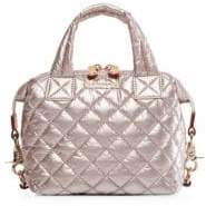 MZ Wallace Micro Sutton Quilted Nylon Satchel