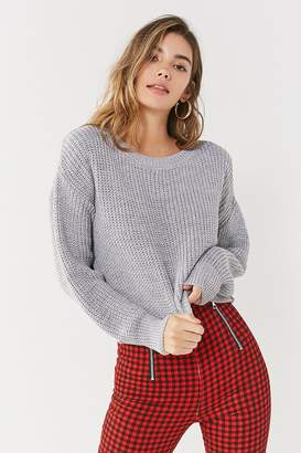 BDG Drop-Sleeve Fisherman Sweater