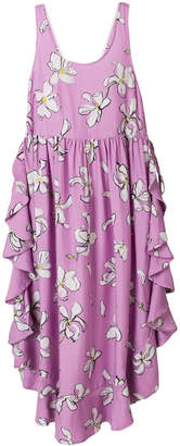 Isa Arfen Flounce floral dress