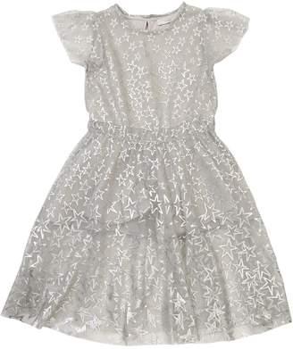 Stella McCartney Star Printed Stretch Tulle Dress