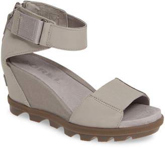 62eaee66184 Sorel Joanie II Ankle Strap Wedge Sandal
