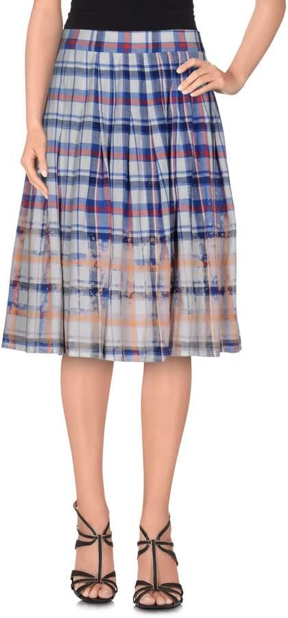 Sea Knee length skirts - Item 35279642
