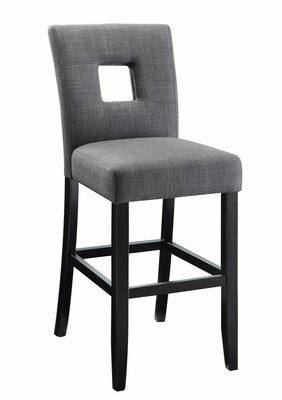 Latitude Run Herchenroether Counter Height Upholstered Dining Chair Latitude Run
