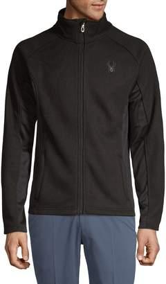 Spyder Textured Front-Zip Sweater