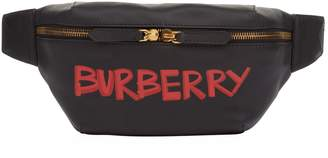 Burberry Leather Graffiti Bum Bag