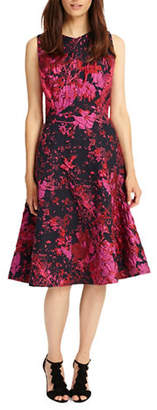 Phase Eight Fifi Abstract Fit-and-Flare Dress