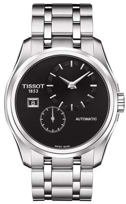 Tissot Men's Couturier Automatic Small Second Bracelet Watch, 39mm