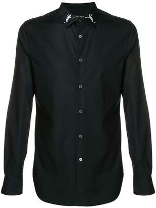 Alexander McQueen skeleton collar shirt