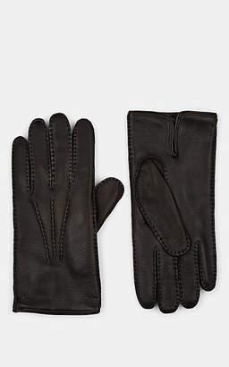 0934efa716fe Barneys New York Men s Cashmere-Lined Deerskin Gloves - Black