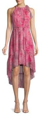 Elie Tahari Primrose Hi-Lo Dress