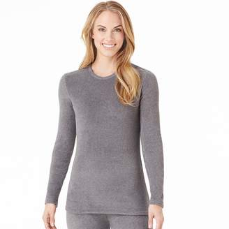 Cuddl Duds Women's Fleecewear Crewneck Top