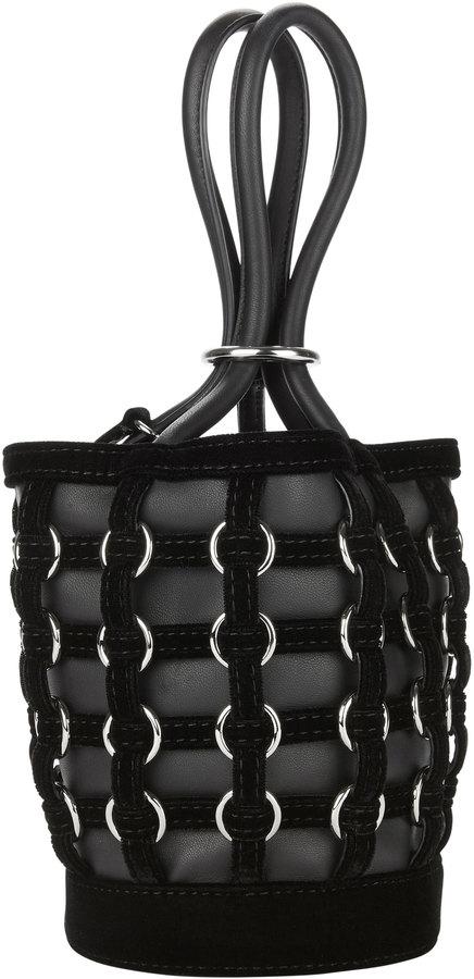 Alexander Wang Mini Roxy Ring Cage Bucket Bag