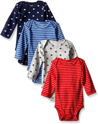 Carter's Baby Boys' 4 Pack Sport Bodysuits (Baby) - 3M