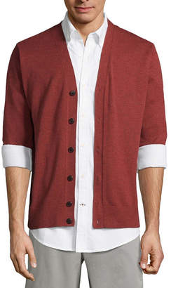 ST. JOHN'S BAY Y Neck Long Sleeve Cardigan