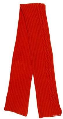 TSE Wool Knit Scarf
