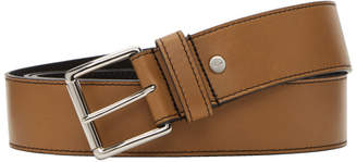 Ami Alexandre Mattiussi Brown Leather Belt