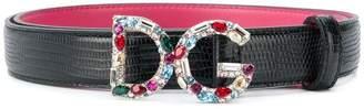 Dolce & Gabbana bejewelled buckle belt