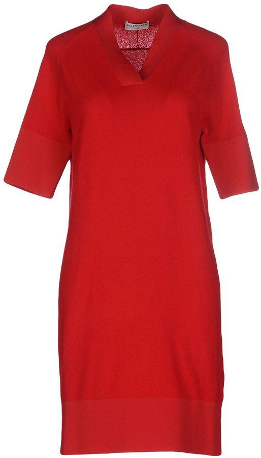 Balenciaga BALENCIAGA Short dresses