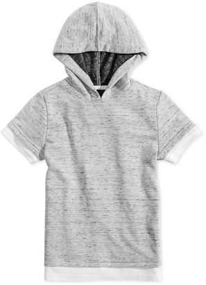 Jaywalker Big Boys Faux-Layer Hoodie T-Shirt