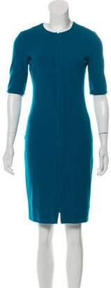 Diane von Furstenberg Zip-UP Midi Dress