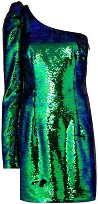 Amen off shoulder sequin dress