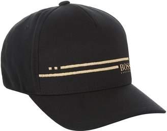 BOSS GREEN Logo Stripe Baseball Cap