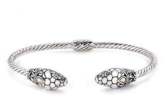 Samuel B Jewelry Sterling Silver Snake Bangle